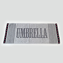 UMBRELLA JACQUARD FACE TOWEL