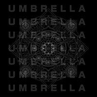 "UMBRELLA Graphic BIG T-shirts""Mandala"""